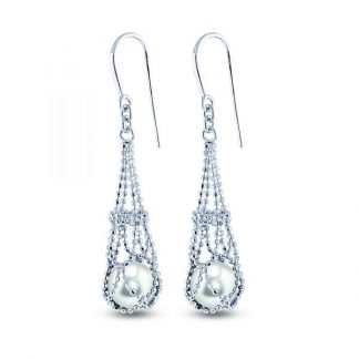 Lace Pearl Earrings by Imperial Showcase View