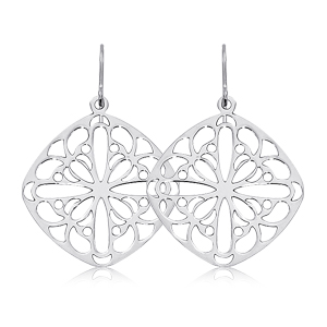 Lace Earrings Showcase View