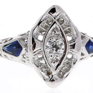 Estate Marquise Ring Showcase View
